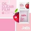 แจ๊บส์ แผ่นฟิล์มซับความมัน กลิ่นแอปเปิ้ล Jabs Oil clear Film (นำเขาจากญี่ปุ่น) (จำนวน 23 แผ่น)