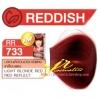 ครีมเปลี่ยนสีผม ดีแคช มาสเตอร์ แมส คัลเลอร์ครีม Dcash Master Mass Color Cream RR 733 บลอนด์อ่อนประกายแดงเหลือบแดง (Light Blonde Red Red Reflect) 50 ml.