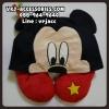 หมอนรองคอรูปตัวยู ลายมิกกี้ : Neck Pad - Mickey Mouse