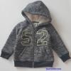 Palomino : แจ็คเก็ทกันหนาว ข้างในเป็นขน หนา นุ่ม สีเทาดำ ปัก 52 size : 92 (2y)/ 98 (2-3y) / 122 (7-8y)