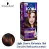 Schwarzkopf IGORA Colors อีโกร่า อินเทนซีฟ คัลเลอร์ ครีม 5-68 Light Brown Chocolate Red น้ำตาลอ่อนช็อคโกแลต ประกายแดง