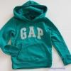Gap : กันหนาวแบบสวม สีเขียว ( ใส่ได้ทั้ง ชาย-หญิง) size 6-7y