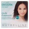 Maybelline Clear Smooth SHINE FREE Face Powder SPF 18 เบอร์ 01 ขาวชมพู