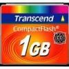 TransCend - CF Card 1GB - 133X Compact Flash Card