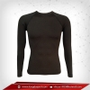 เสื้อรัดรูป Bodyfit แขนยาวคอกลม สีเทาดำ dimgray สินค้าหมดชั่วคราว