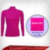เสื้อรัดกล้ามเนื้อ รุ่น Quick Dry มีรูระบายอากาศ สีม่วง mediumorchid
