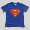 H&M : เสื้อยืด Superman สีน้ำเงิน size : 8-10y