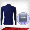 เสื้อรัดกล้ามเนื้อ รุ่น Quick Dry มีรูระบายอากาศ สีน้ำเงินเข้ม midnightblue