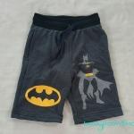 กางเกงขาสั้น เอวยืด สกรีนลาย Batman Size : 10-12y