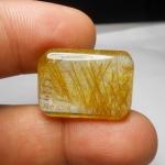 แก้วไหมทอง ขนาดสะสม เส้นสวย ขนาด 2.5x 1.8 mm