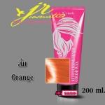 สีส้ม Orange เจ-โฟร์ท รีทัชซิ่ง แฮร์ คัลเลอร์ แว็กซ์