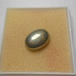 เพรชหน้าทั่ง (Pyrite) แร่ดูดทรัพย์ โชคลาภ ขนาด 1.8*1.3cm ทำหัวแหวนงามๆ