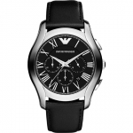 นาฬิกาข้อมือ Emporio Armani AR1700 Emporio Armani Men's AR1700 Classic Analog Display Analog Quartz Black Watch