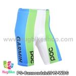 กางเกงจักรยานขาสั้นทีม Cannondale 15 สีขาวฟ้าเขียว สั่งจอง (Pre-order)