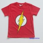 H&M: เสื้อยืด Flash สีแดง size : 6-8y