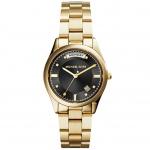 นาฬิกาข้อมือ Michael Kors MK6070 Michael Kors MK6070 Women's Colette Gold-Tone Stainless Steel Bracelet Watch