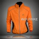 เสื้อคลุมจักรยานแขนยาว Le tour de france สีส้ม