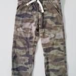 Carter's : กางเกงขายาว เอวยืด สีเขียวลายทหาร size: 6m / 9m / 12m / 18m / 24m