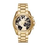 นาฬิกาข้อมือ Michael Kors MK6272 Watch Hunger Stop Oversized Bradshaw 100 Gold-Tone Watch