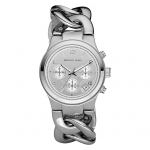 นาฬิกาข้อมือ Michael Kors MK3149 Silver-Tone Runway Midsized Watch Size 38 mm