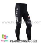 กางเกงจักรยานขายาวทีม Bianchi 14 สีดำ สั่งจอง (Pre-order)