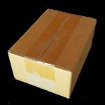 กล่องไปรษณีย์ฝาชนเบอร์ 00 ขนาด 9.75 X 14 X 6 cm. ใบละ 2 บาท