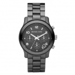 นาฬิกาข้อมือ Michael Kors MK5162 Women's Black Ceramic Runway Watch Size 40 mm