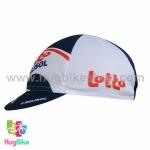 หมวกแก๊บ Lotto 15 (02) สีขาวน้ำเงิน