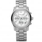 นาฬิกาข้อมือ Michael Kors MK5076 Silver-Tone Runway Midsized Watch Size 38 mm