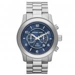 นาฬิกาข้อมือ Michael Kors รุ่น MK8314 Michael Kors Stainless Steel Blue Watch MK8314 Size 45 mm