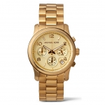 นาฬิกาข้อมือ Michael Kors MK5055 Gold-Tone Runway Midsized Watch Size 38 mm
