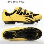 รองเท้าจักรยานเสือภูเขา TIEBAO รุ่น TB01-B969 สีเหลืองดำ