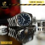 Michael Kors Channing Midnight Blue Shimmer Dial Stainless Steel MK6113