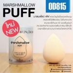 Odbo Marshmallow Puff ฟองน้ำรูปไข่ เนื้อแน่น ช่วยลงรองพื้นให้เรียบเนียน ไม่เป็นคราบ
