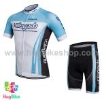 ชุดจักรยานแขนสั้น Volegarb 16 (16) สีฟ้าขาว