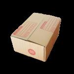 กล่องไปรษณีย์ฝาชนเบอร์ 00 ขนาด 9.75 X 14 X 6 cm. ใบละ 1.9 บาท