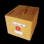 กล่องไปรษณีย์ฝาชนเบอร์ I ขนาด 45 X 55 X 40 cm. ใบละ 28 บาท