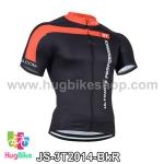 เสื้อจักรยานแขนสั้นทีม 3T 2014 สีดำแดง สั่งจอง (Pre-order)