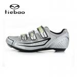รองเท้าจักรยานเสือหมอบ TIEBAO รุ่น TB16-B1230 สีเงิน