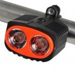 ไฟหน้าจักรยาน Super Bright รุ่น TD-516A สีดำส้ม