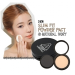 3CE Stylenanda Slim Fit Powder Pact SPF22PA++ 8g [Natural Ivory]