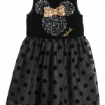 H&M : ชุดเดรส รุ่น Minnie Mouse Velvet and Tulle Dress size : 1.5-2y