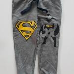 H&M : กางเกงขาจั๊มสกรีนลาย Batman&Superman size :6-8y / 8-10y /