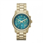 นาฬิกาข้อมือ Michael Kors MK5815 Watch Hunger Stop Runway Gold-Tone Stainless Steel Watch Size 38 mm