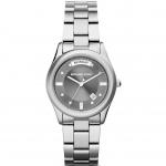 นาฬิกาข้อมือ Michael Kors MK6051 Colette Silvertone Stainless Steel Bracelet Watch Details