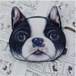 กระเป๋าหมาใส่เหรียญหน้าเฟรนบลูด๊อก 3มิติ