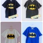 H&M เสื้อยืด ผ้าCotton ลาย Bat man