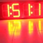 นาฬิกาดิจิตอลLED 7นิ้ว 6หลัก