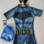 ชุดว่ายน้ำ บอดี้สูท ลาย batman พร้อมถุง และหมวก (งานลิขสิทธิ์) size : XS (3-4y) / S (4-5y) / L (6-7y) / XL (7-8y)