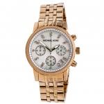 นาฬิกาข้อมือ Michael Kors รุ่น MK5026 Michael Kors Ladies Damen Chronograph Rose Gold Watch MK5026 Size 36 mm